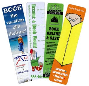 Custom Printed Bookmarks