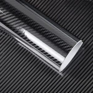 carbon fiber decals printing