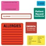Custom Medical Records Labels