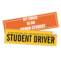 bumper stickers for cars and trucks