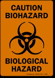 bio-hazard decals
