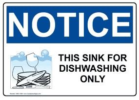 Kitchen Safety Decals Printing