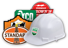Custom Hard Hat Decals Printing
