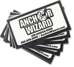 square cut business decals